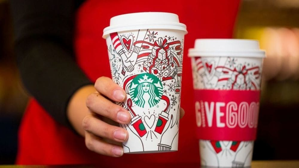 Starbucks' Newest Holiday Cups