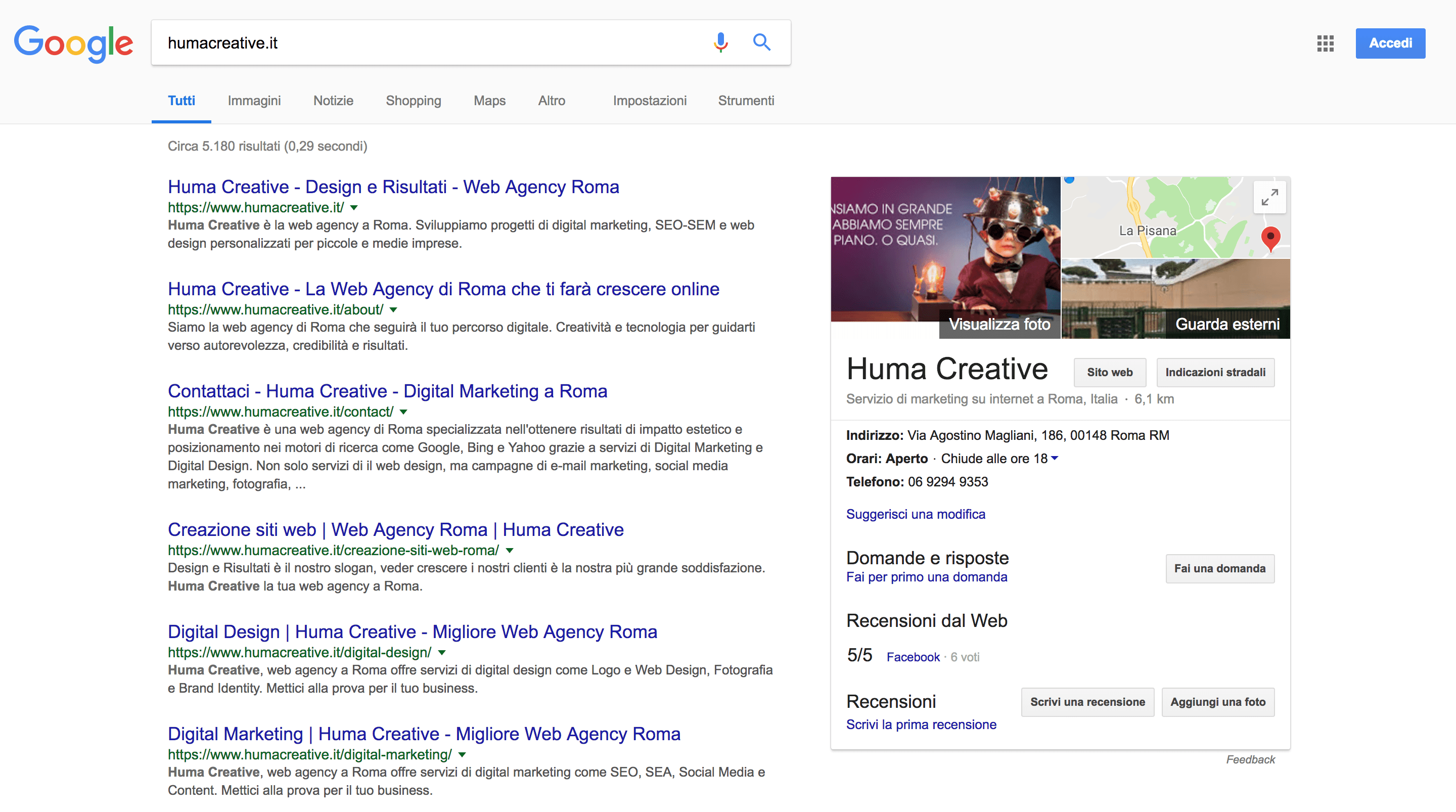 Google My Business Huma Creative